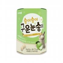 송이송이 구운눈송이 (사과)(20G)
