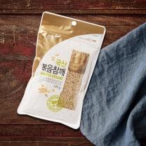 청화농산 국산 볶음참깨(100G)