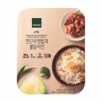 해빗 연근우엉밥과 불닭치킨(285G)