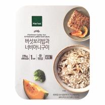 해빗 버섯보리밥과 너비아니구이(275G)