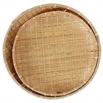 대나무 채반 세트(35CM,41CM)