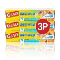 GLAD 프레스&씰 매직랩 기획(21.6M*3입)