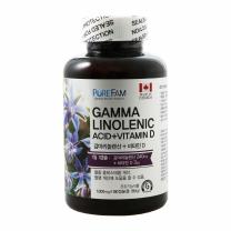 퓨어팜 감마리놀렌산+비타민D(1,000MG*180캡슐)