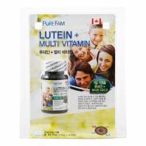 퓨어팜 루테인+멀티비타민(475MG*90정)