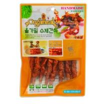 올가밀 수제간식 (오리껌 닭가슴살말이)(80G)