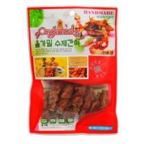 올가밀 수제간식 (황태져키 닭가슴살말이)(100G)