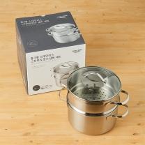 룸바이홈 통3중스티머냄비세트(20CM)
