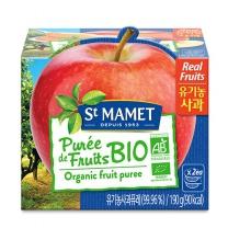 쌩마멧 유기농 퓨레 (사과)(95G*2입)