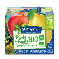 쌩마멧 유기농 퓨레 (사과,배)(95G*2입)