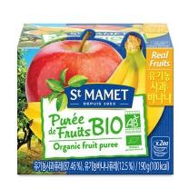 쌩마멧 유기농 퓨레 (사과,바나나)(95G*2입)
