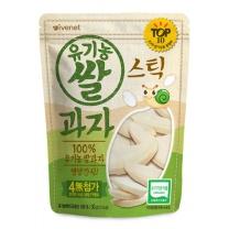유기농 스틱 쌀과자