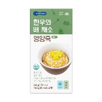 베베쿡 한우와배채소 (9개월)(120G*2)