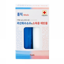 과산화수소수&소독용 에탄올 세트(60ML*2입)