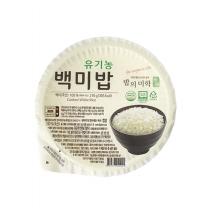 밥의미학 유기농 백미밥(210G)