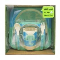 키즈밀 식기세트 (코끼리)(5PCS)