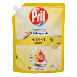프릴 주방세제 (리필,퓨어레몬)(1L)