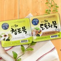 어깨동무 도토리묵+청포묵(300G*2입)