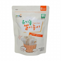 유기농 단호박 쌀떡과자(25G)