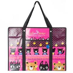 타포린가방 (특대) 핑크