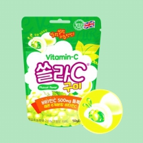 쏠라C구미 (청포도맛)(50G)