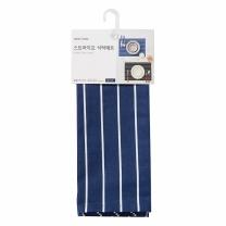 룸바이홈 스트라이프 식탁매트 (블루)(45*30CM)