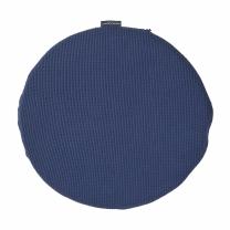룸바이홈 원형메모리폼방석 (네이비)(35*35CM)