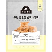 구딘 클린캣 벤토나이트 (레몬향)(5L)