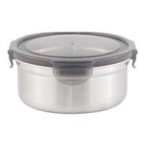 프리미엄 원형 스텐 밀폐용기(1,1L)