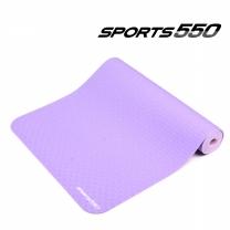 스포츠550 TPE요가매트 (Purple,6mm)