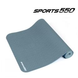 스포츠550 TPE요가매트 (Gray,6mm)
