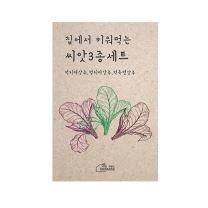 집에서 키워먹는 씨앗 3종 세트 (고추,방울토마토,상추)