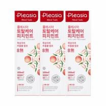 플레시아 치약 (피치민트)(100G*3입)