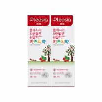 플레시아 키즈 치약 (산딸기)(80G*2입)