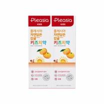플레시아 키즈 치약 (감귤)(80G*2입)