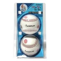 야구의달인 3구3진 야구공 (안전피칭그립볼)