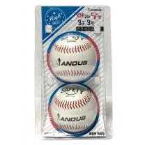 야구의달인 3구3진 야구공 (안전구)