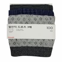 보나핏 남성 멜란지드로즈1호(3입)