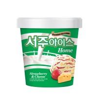 서주아이스 홈타입 딸기&치즈(660ML)
