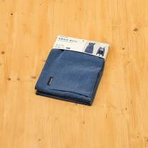 룸바이홈 코튼워싱 앞치마 (블루)(80X76CM)