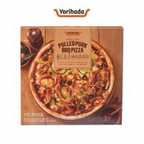 요리하다 풀드포크 바비큐 피자(365G)