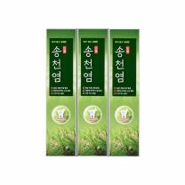 송천염 소금잇몸 치약(120G*3입)