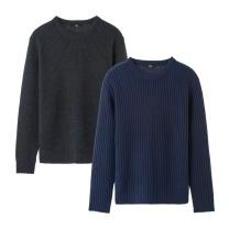 MK8413 골지 라운드 스웨터