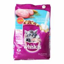 위스카스 오션피쉬와 우유(주니어)(1.1KG)