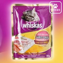 위스카스 파우치(씨푸드칵테일)(85G)