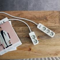 [룸바이홈] 모던한 디자인! 룸바이홈 멀티탭 신상품