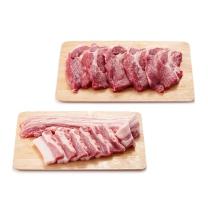 국내산 냉장 돼지 삼겹/목심