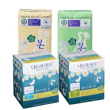 유기농 생리대 모음전<br>2개↑ 구매시 15~40%할인