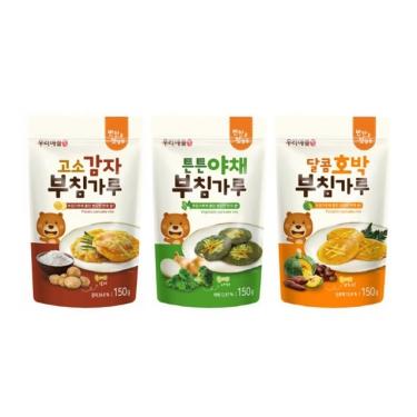 고소감자/튼튼야채/달콤호박 부침가루