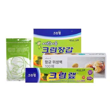 주방 랩/비닐백/비닐장갑 모음