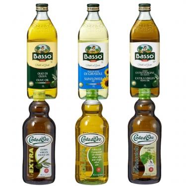 코스타도로 포도씨유<br>바쏘 올리브유